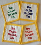 Be Calm Coasters